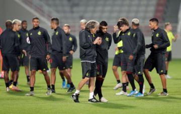 Flamengo se prepara para jugar la final