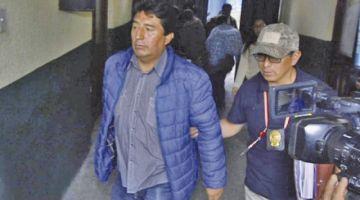 Justicia aprehende al primo de Evo Morales por el caso terrorismo y audio