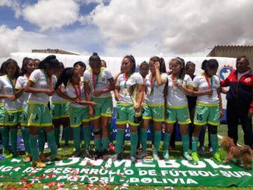 Tarija gana el título del torneo nacional femenino de fútbol