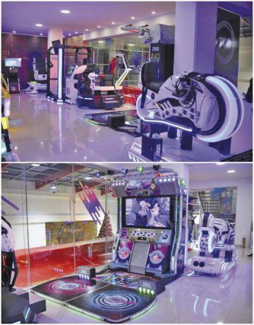 Hoy se inaugura una sala  de juegos de realidad virtual