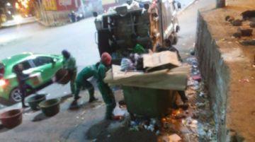 Recogen hasta 6 toneladas de basura de entrada navideña