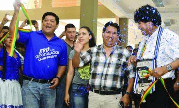 Morales avaló la prorroga de cúpulas sindicales en Bolivia