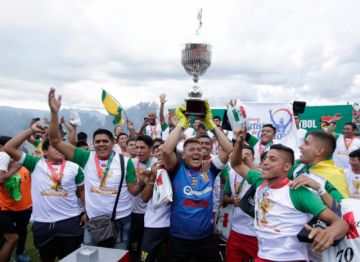 Municipal Vinto asciende a la División Profesional