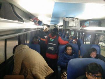 Personal defensorial evidencia falencias de seguridad en algunos buses