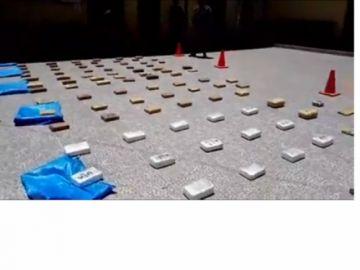 Incautan droga valuada en casi medio millón de dólares
