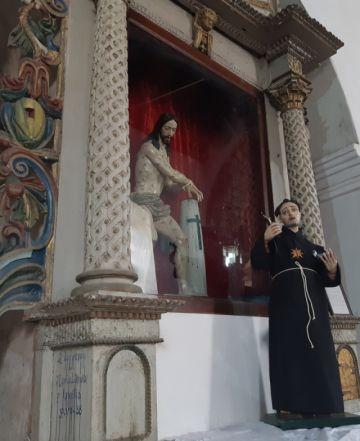Restauraron dos obras de Gaspar de la Cueva