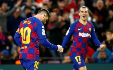 Barza y Madrid en la cima de LaLiga