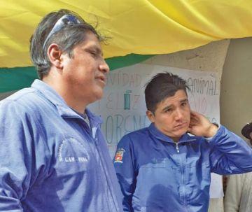 Los pobladores de Puna retuvieron ayer a dos funcionarios de la Alcaldía