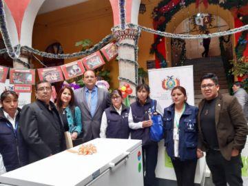 Viceministro de Salud entrega equipamiento para centros sanitarios