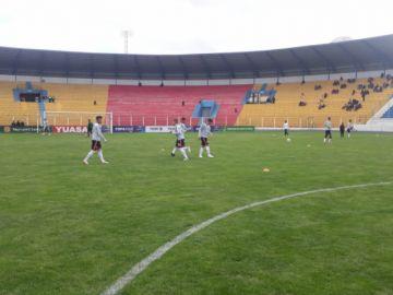 Nacional Potosí está en La Paz para su partido contra Always Ready