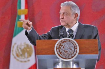 """Llaman """"sinvergüenza"""" al presidente Andrés Manuel López Obrador"""