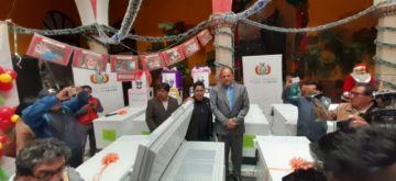 Ministerio de Salud entregó equipamiento médico al municipio de Potosí