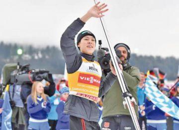 El japonés Ryoyu Kobayashi buscará revalidar la victoria en el Cuatro Trampolines