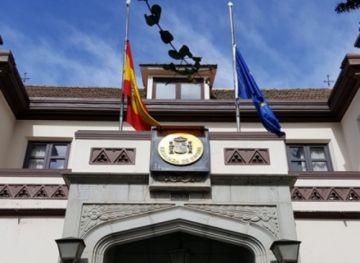 Embajada de España comunica retiro de seis miembros del personal diplomático