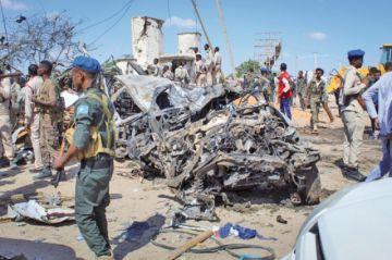 Un atentado en Somalia causa 92 fallecidos y decenas de heridos