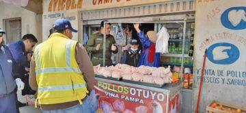 Intendencia intensifica control de venta de carne de cerdo en mercados