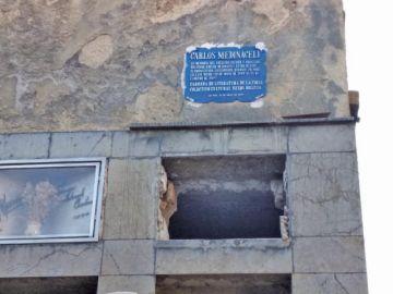 Pusieron una plaqueta en la tumba vacía de Medinaceli