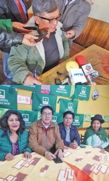 Comcipo y diputado anuncian un juicio contra Evo por aeropuerto