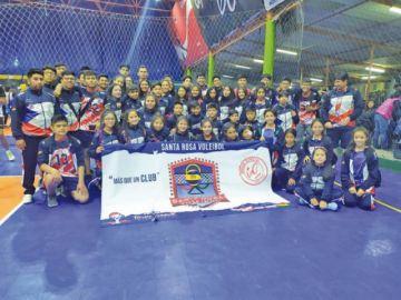 Santa Rosa sube al podio en el torneo internacional de voleibol