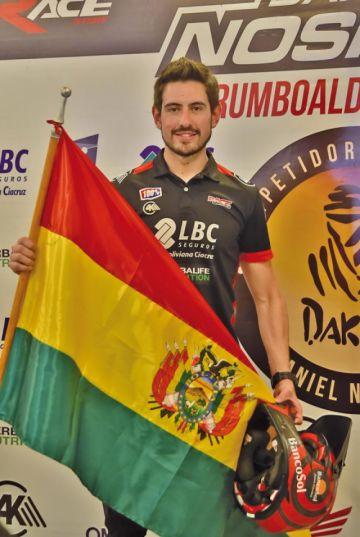 Nosiglia está listo para correr el Dakar 2020