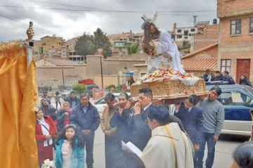 San Benito festeja al Señor de las Caídas