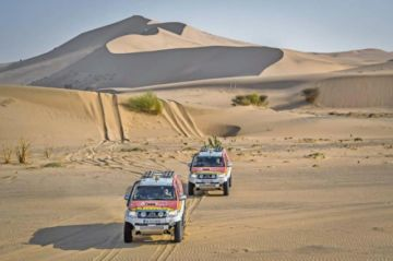 Arabia Saudí espera al Dakar