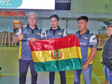 Martínez se pone como objetivo llegar entre los cinco primeros en cuadriciclos