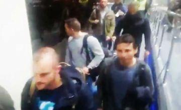 Funcionarios españoles salen de Bolivia en medio de reproches y gritos