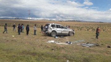 Dos muertos en accidente de tránsito en la carretera Potosí Sucre