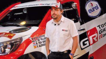 Fernando Alonso pilotará un Toyota Hilux en el rali Dakar