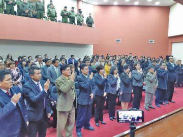 Los nuevos vocales del TDJ de Potosí serán posesionados hoy en Sucre