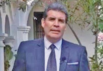 Jhon Arandia  descarta  ingresar a la arena política