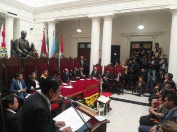 Inauguran Año Judicial en Sucre con la presencia de la presidenta Jeanine Áñez