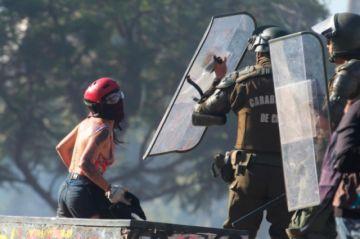 Chile: Protesta social  no cesa a pesar del inicio de nuevo año