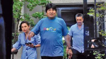 Fiscalía admite denuncia contra Evo Morales
