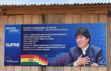 Detectan negociados en proyectos UPRE que implican a Evo y Quintana