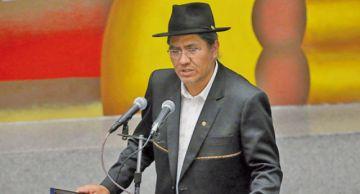 Diego Pary vuelve a Bolivia y no descarta candidatura por el MAS