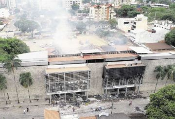 Usaid ayudará a reconstruir tribunales electorales regionales que fueron quemados