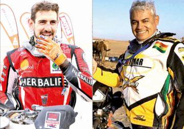 Martínez y Nosiglia arrancarón la primera etapa del Dakar 2020 con una buena nota