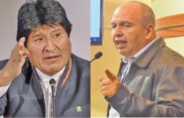 """Gobierno y Evo endurecen """"guerra"""" de acusaciones"""