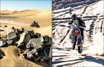 Los pilotos bolivianos tuvieron una jornada negra en la segunda etapa del Dakar 2020