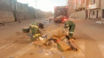 EMAP recogió 46 m3 de  basura de la feria popular