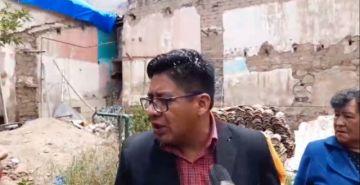 Inspeccionan la casa de Armando Alba en el centro de la ciudad