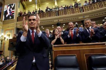 Sánchez, confirmado por el Congreso como presidente del Gobierno español