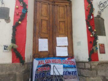 Pobladores de Alto Villa Cantería toman la Alcaldía