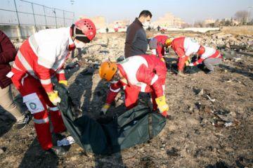 Avión se estrella en Irán con 176 personas a bordo (galería de fotos)