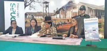 Culturas y Amaszonas acuerdan promover la integración del turismo