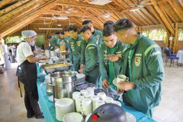 La sub-23 se instaló en Cali a la espera de Chile