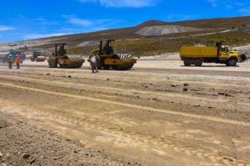 Ministerio de Obras Públicas y Gobernación hablan sobre las obras del aeropuerto
