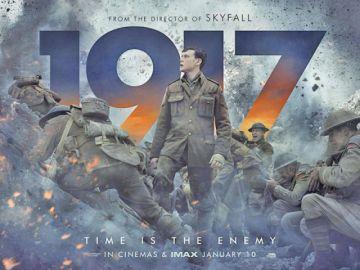 """""""1917"""" llega a los cines tras triunfar en los Globos de Oro"""